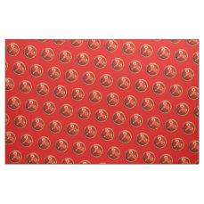 Aries Symbol Fabric
