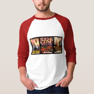 Aries Taurus zodiac Cusp by valxart T-Shirt