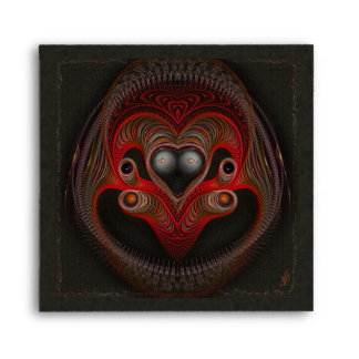 Aries the Ram Abstract Art Envelope