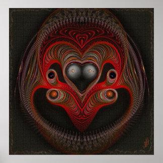Aries the Ram Abstract Art Print