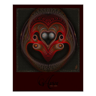 Aries the Ram Abstract Art Posters