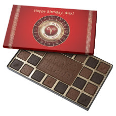 Aries - The Ram Astrological Sign Assorted Chocolates
