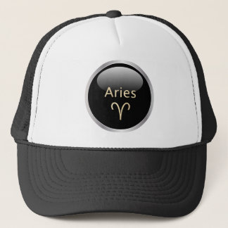 Aries the ram astrology star sign zodiac hat, cap