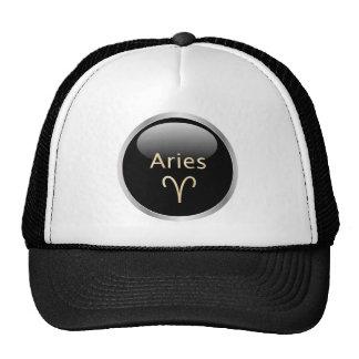 Aries the ram astrology star sign zodiac hat, cap trucker hat
