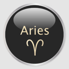Aries The Ram Astrology, Zodiac Star Sign Stickers at Zazzle