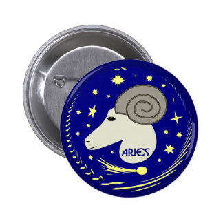 Aries the Ram Button