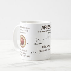 Aries - The Ram Constellation Coffee Mug