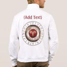 Aries - The Ram Horoscope Symbol Jacket