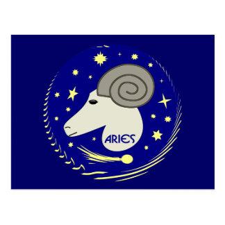 Aries the Ram Postcard