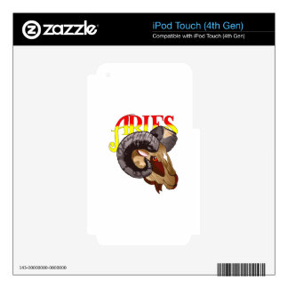 ARIES THE RAM iPod TOUCH 4G DECALS