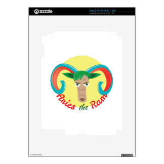 Aries The Ram Skins For The iPad 2