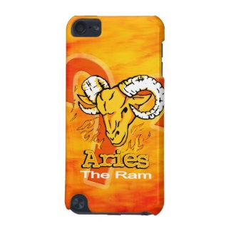 Aries The Ram zodiac fire orange flame case