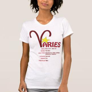 Aries Traits Ladies Tank Top