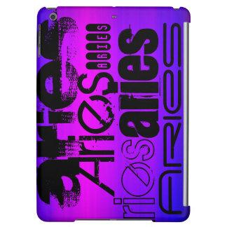 Aries; Vibrant Violet Blue and Magenta iPad Air Cases