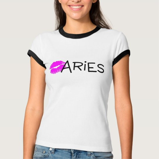 Aries with Pink Kiss T-Shirt