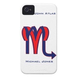Aries y escorpión iPhone 4 Case-Mate cárcasas