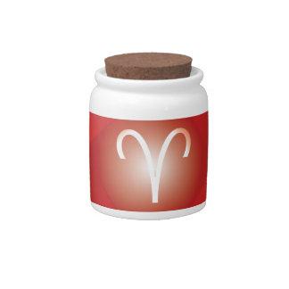 ARIES-YANTRA CANDY JAR