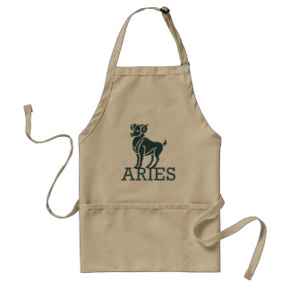 Aries Zodiac Adult Apron