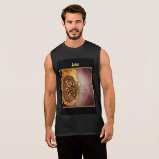 Aries Zodiac Astrology design Sleeveless Shirt