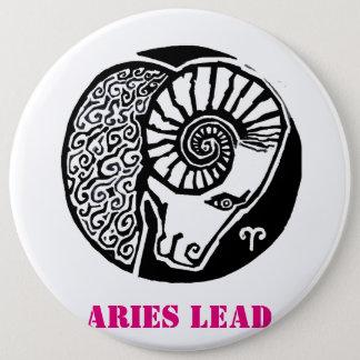 Aries - Zodiac Badge round Button