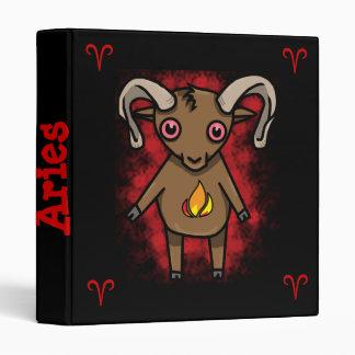 Aries Zodiac Binder!