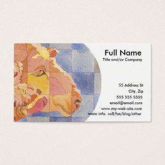 Aries Zodiac Business Card