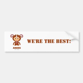 Aries Zodiac for Kids Bumper Sticker