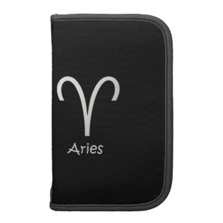 Aries Zodiac March 21 - April 19 Astrology Folio Planners