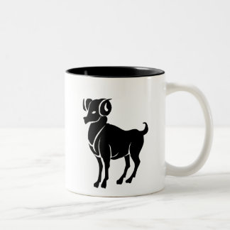 Aries Zodiac Pictogram Mug