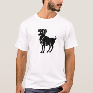 Aries Zodiac Pictogram T-Shirt