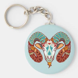 Aries Zodiac - Ram Keychain