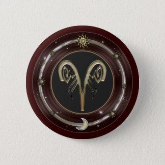 Aries Zodiac Sign Buttons