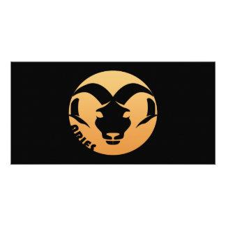 Aries Zodiac Sign Card