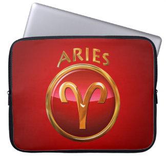 Aries Zodiac Sign Computer Sleeve