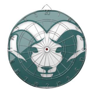 Aries Zodiac Sign Dartboard