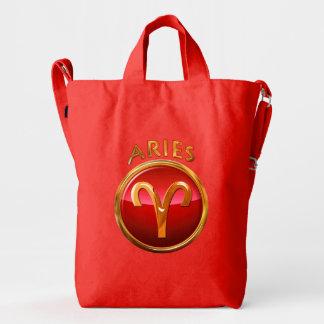 Aries Zodiac Sign Duck Bag