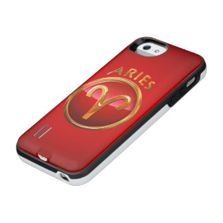 Aries Zodiac Sign iPhone SE/5/5s Battery Case