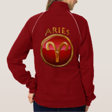 Aries Zodiac Sign Jacket