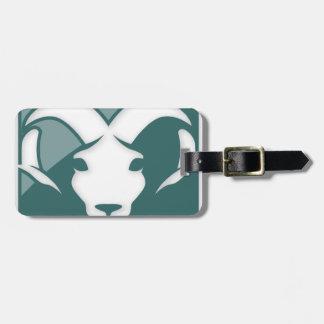Aries Zodiac Sign Travel Bag Tag