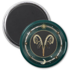 Aries Zodiac Sign Magnets at Zazzle