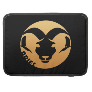Aries Zodiac Sign Sleeve For MacBook Pro