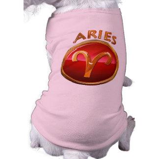 Aries Zodiac Sign Tee