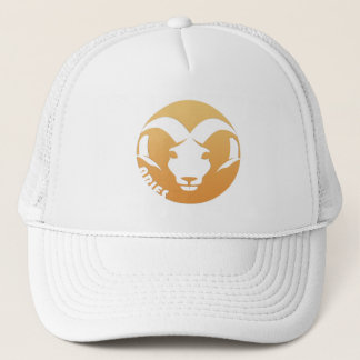 Aries Zodiac Sign Trucker Hat