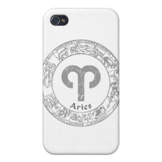 Aries Zodiac sign vintage iPhone 4/4S Case