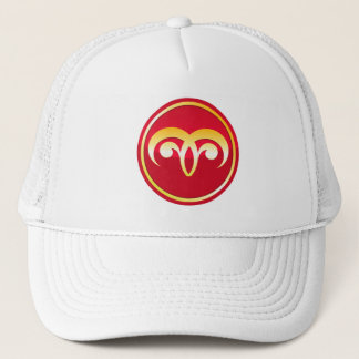 Aries - Zodiac Signs Trucker Hat