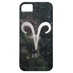 Aries Zodiac Star Sign On Universe Iphone Se/5/5s Case at Zazzle