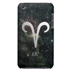 Aries Zodiac Star Sign On Universe Ipod Case-mate Case at Zazzle