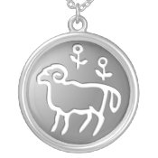 Aries Zodiac Star Sign Silver Premium necklaces