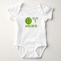 ARIES ZODIAC Symbol Baby Bodysuit