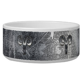 Aries Zodiac Symbol Industrial Style Bowl